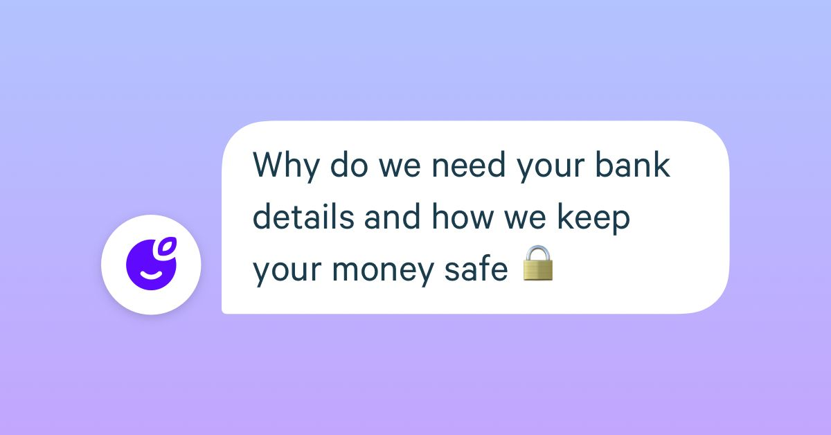 protect bank details and keep money safe
