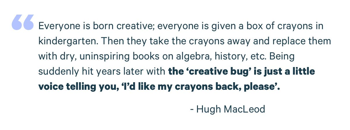 hugh macleod quote