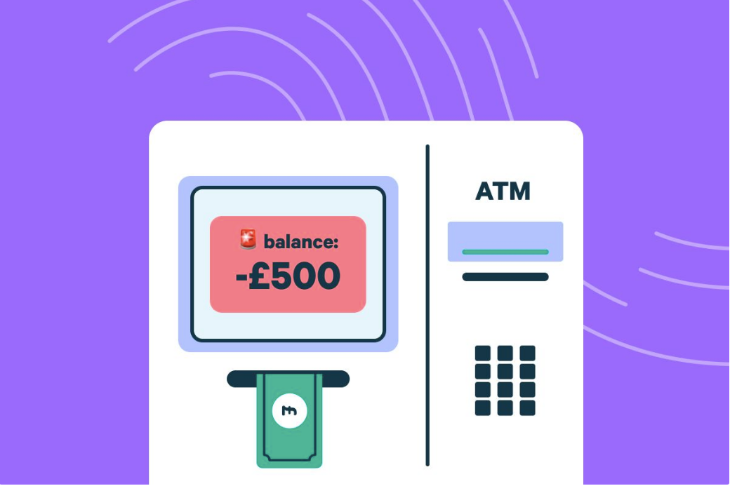 How to Get Out of your Overdraft Monzo