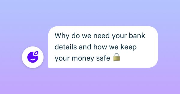 How we protect your bank details