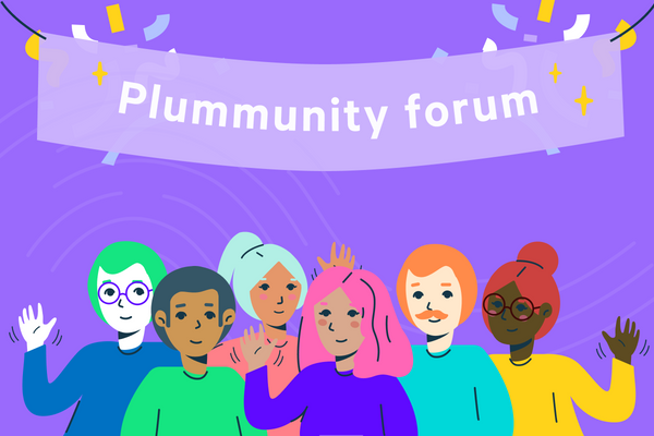Introducing the Plummunity Forum 👨‍👩‍👧‍👦